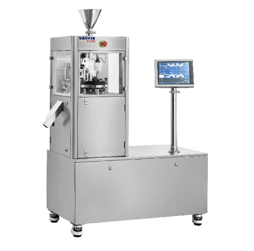 Lab scale single layer tablet press