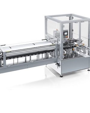 Vertical cartoner for pharmaceutical applications