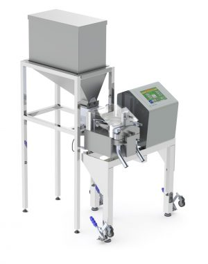 Small scale checkweigher for tablets & capsules