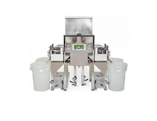 High capacity weight sorter for tablets & capsules