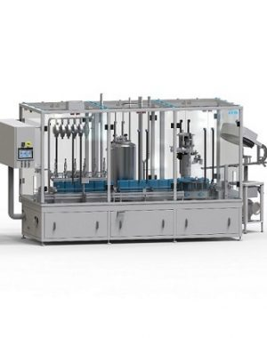 In-line monoblock linear filler & capper