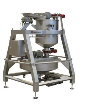 Automatic weigher and mixer of confectionery ingredients