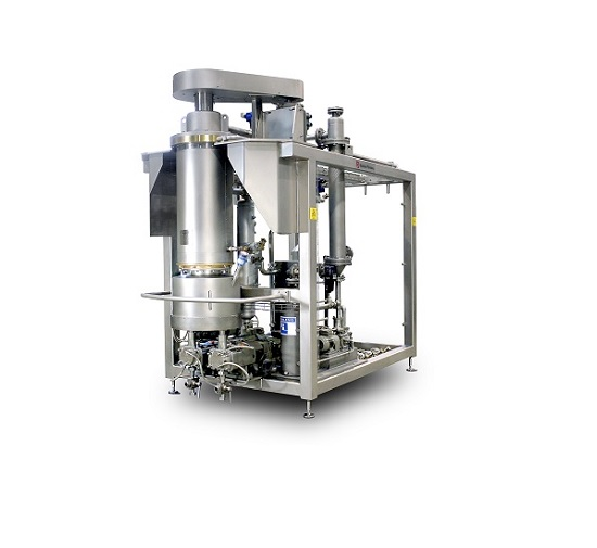 Thin-film cooker for confectionery products