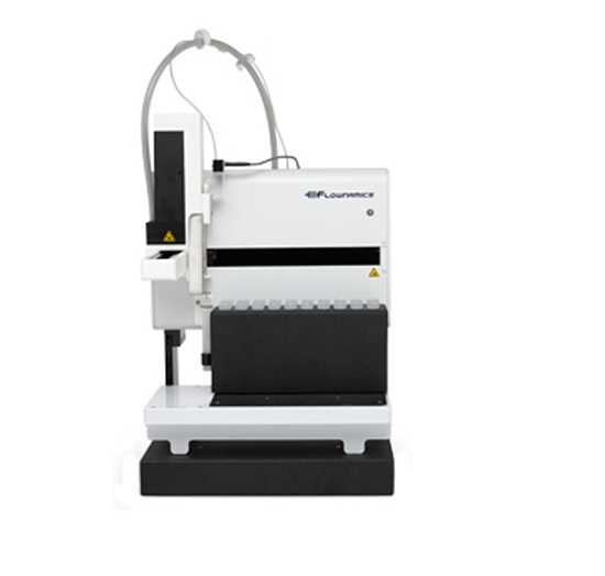 On-line fraction collector for off-line bioprocess analysis