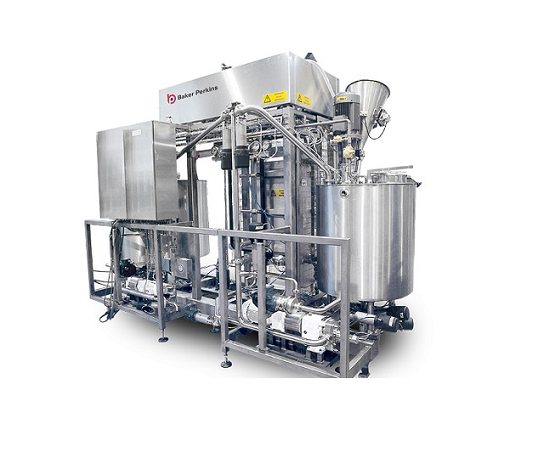 Fully-automated syrup cooker, mixer and coater for cereals