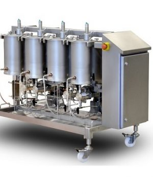 Colour-change system for extruded cereals