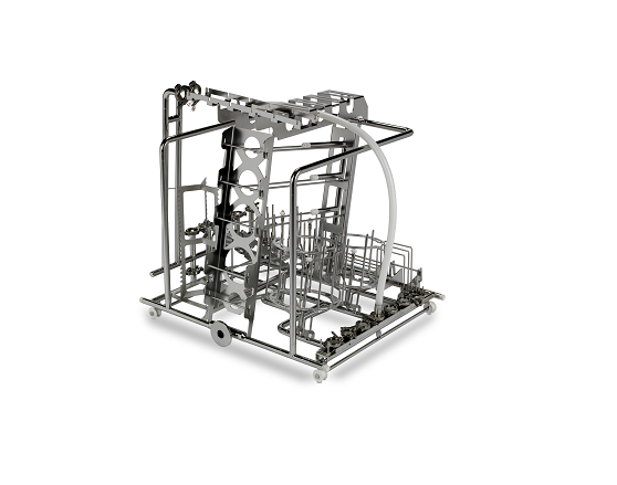 Loading basket for GMP washer