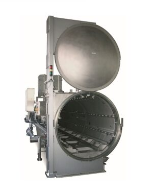 Autoclave for doypack pouches