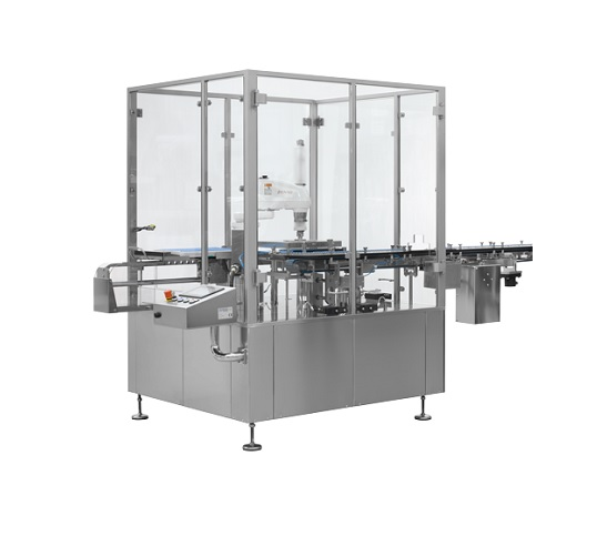Automatic vial tray loader