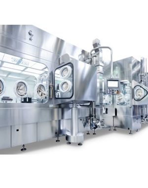 Aseptic automatic vial filling machine