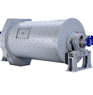 Horizontal rotary ball mill drum