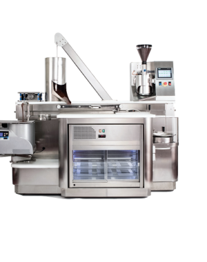 Entry level bean-to-bar machine