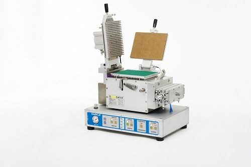 Semi-automatic capsule filler