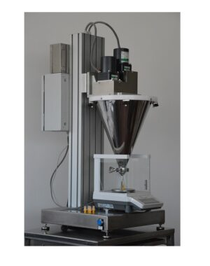 Semi-automatic powder dosing machine
