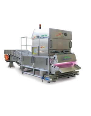Optical sorter for vegetables