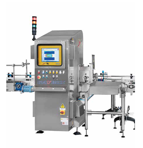 X-ray inspection machine for jars