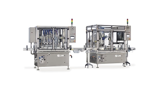 Filling Machine for Cosmetic Creams and Lotions