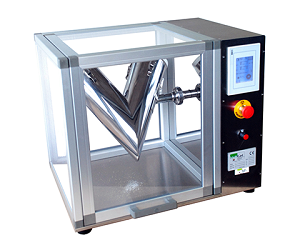 R&D V-type powder blender