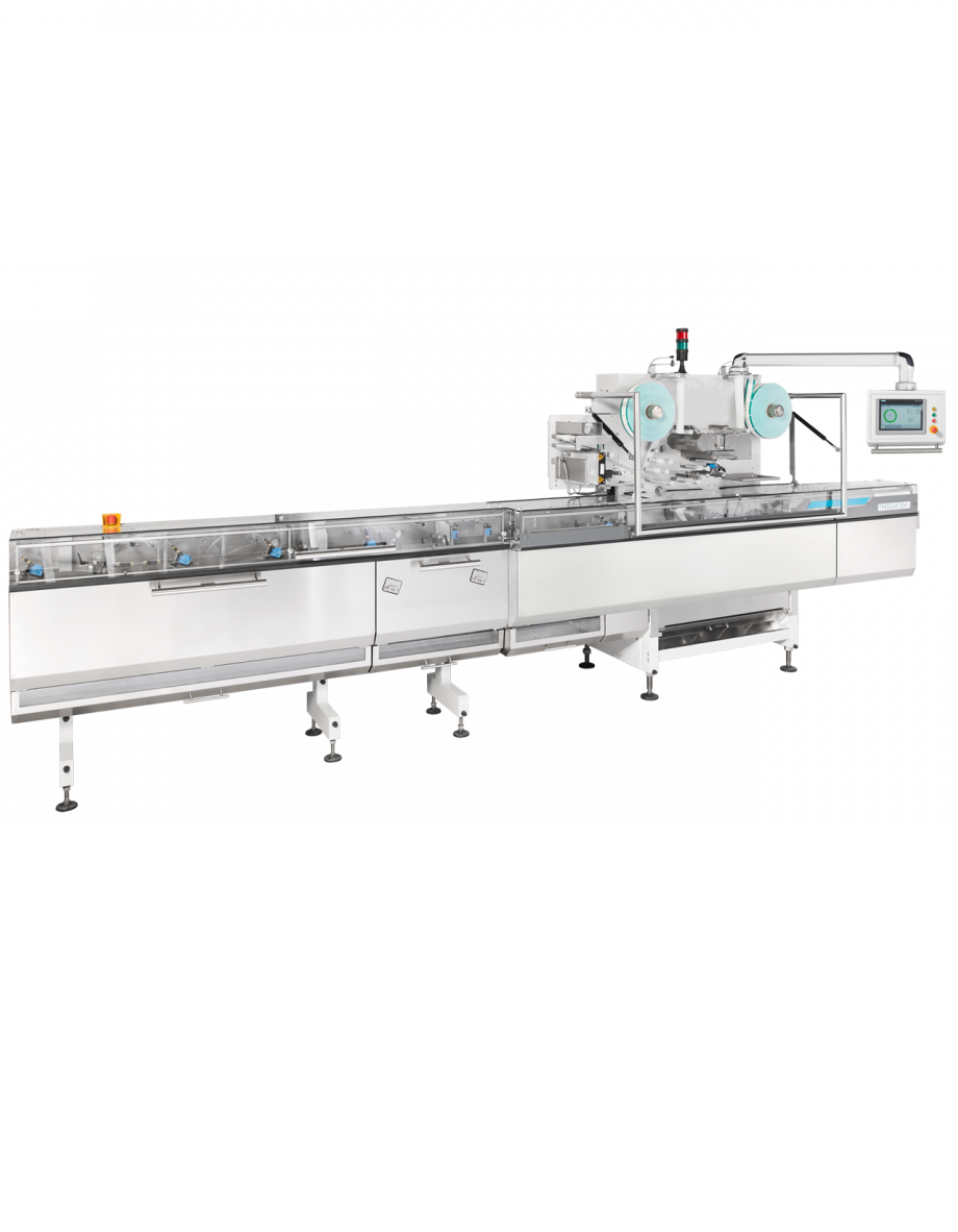 High-speed Flow Pack Wrapping Machine for Chocolates
