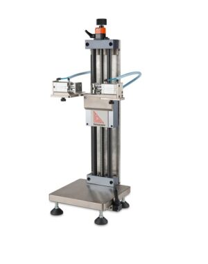 Drop tester for compacted powders