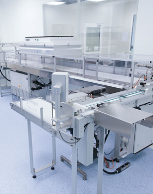 Industrial petri dish filling machine