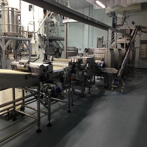 Moulding machine for bread sticks