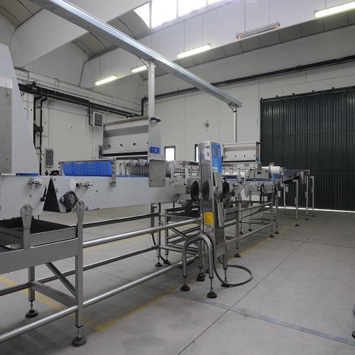 Moulding machine for rolled bread