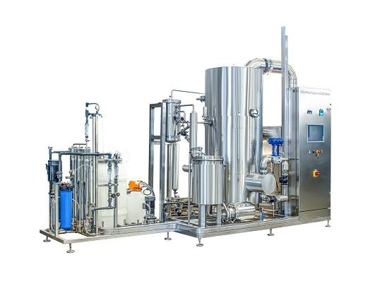 Vapor compression distiller
