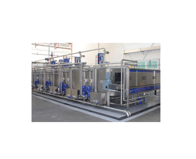 Tunnel pasteurizer for beverage