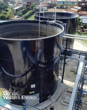 Aerobic SBR wastewater treatment