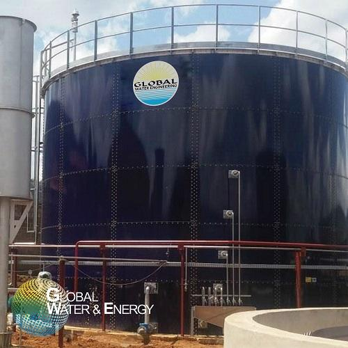 Anaerobic UASB wastewater treatment