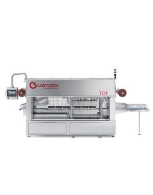 Tray sealer for food production