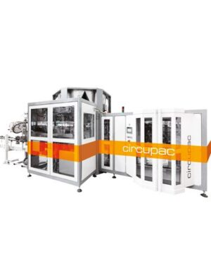 Open mouth bag filling machine for powders