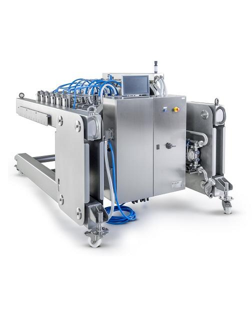 Mobile High Speed Depositor Of Pizza Sauce Vekamaf Industry Experts