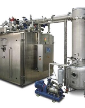Vacuum cabinet dryer for functional foods