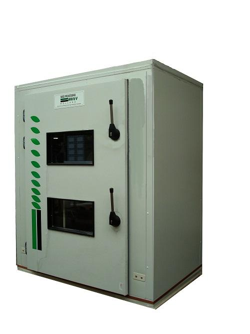 Conditioned seed drying machine