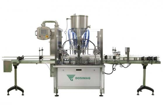 Automatic filling machine for sauce