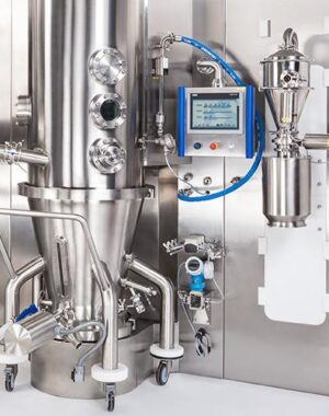 Fluid bed dryer for pharmaceutical solid dosage form