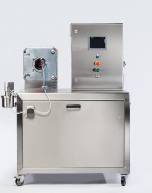 Tablet coater for laboratory scale