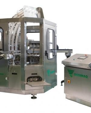Automatic filling and sealing machine for yogurt