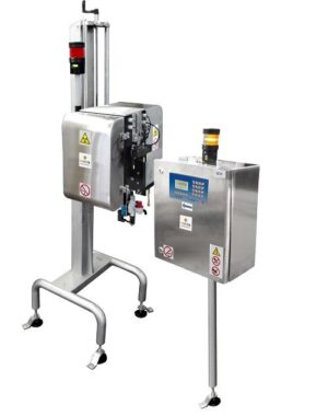 Inspection machine for canned beverages
