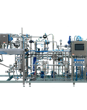 Fully certified CBD crude oil extraction machine