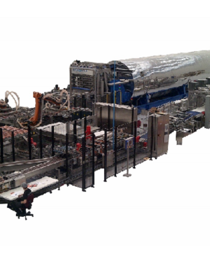 Continuous sterilizer for pet food