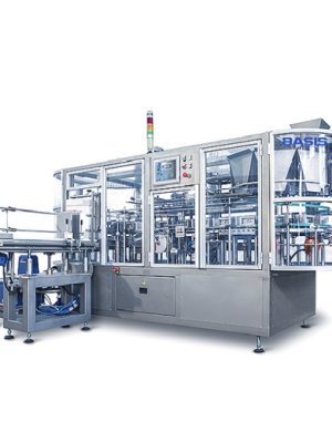 Continuous vertical cartoner for cereals