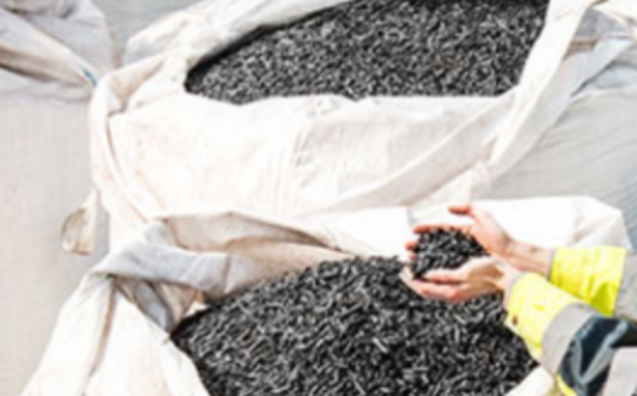 How to make a more effective fuel: black pellets