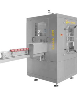 High speed can seamer for canned pet food